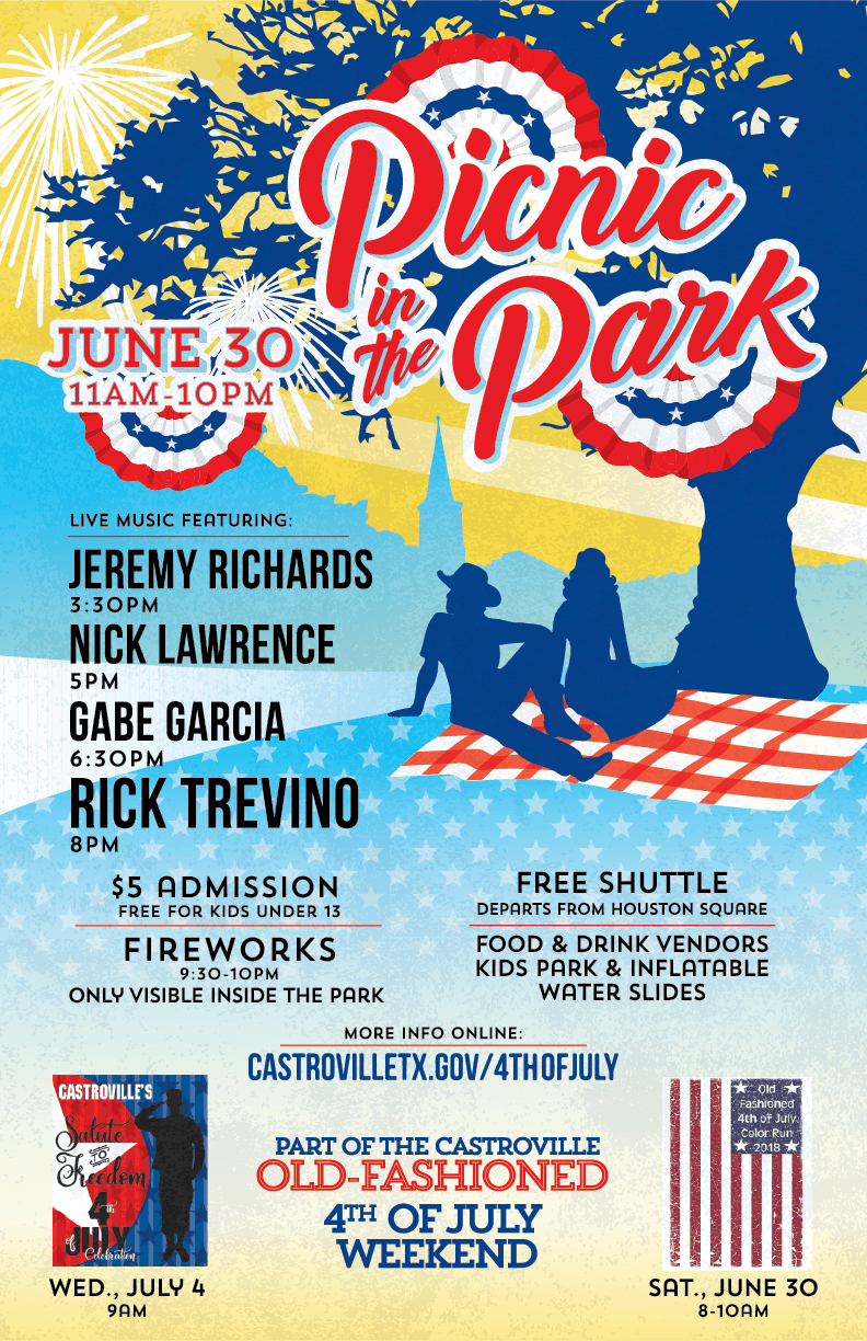 Picnic in the Park Poster, 2018