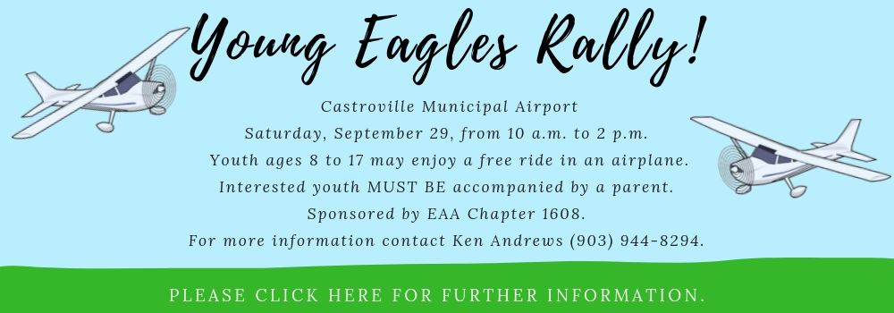 Young Eagles Rally Fall 2018