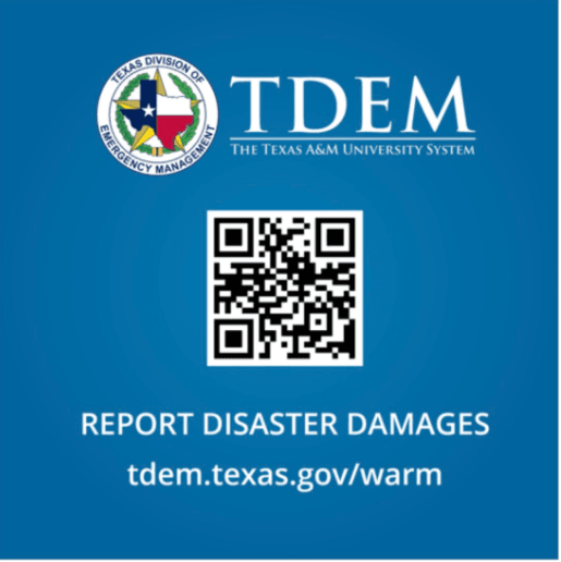 TDEM_QR_Report_Disaster_Damages